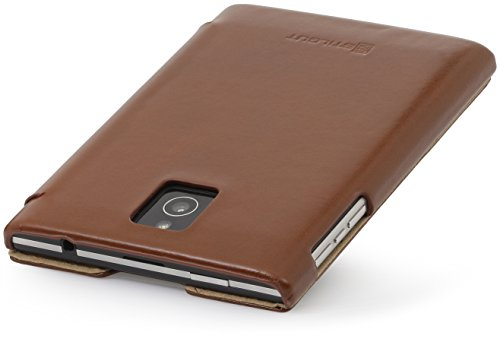 Book Cover Black Berry : Stilgut leather book case for blackberry passport cognac