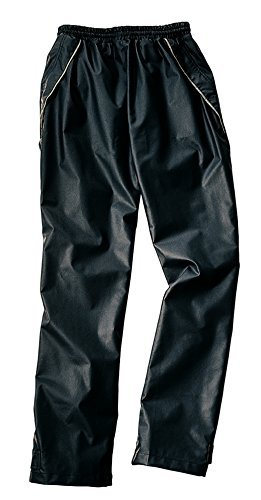 Charles River Apparel Men's New Englander Rain Pant, Black, Large