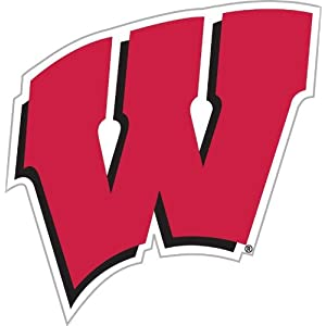 "Wisconsin 12"" Car Magnet"