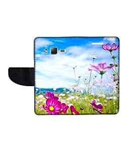 KolorEdge Printed Flip Cover For Samsung Galaxy Z1 Multicolor - (43KeMLogo11209SamZ1)