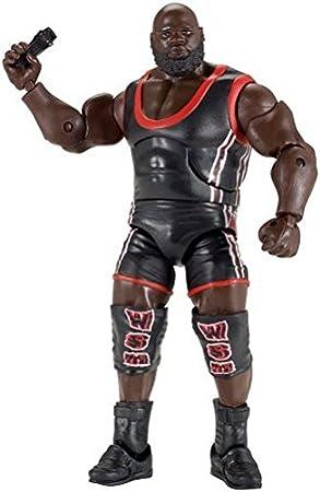 WWE – Elite Collection – Mark Henry – Figurine Articulée 15 cm + Accessoire