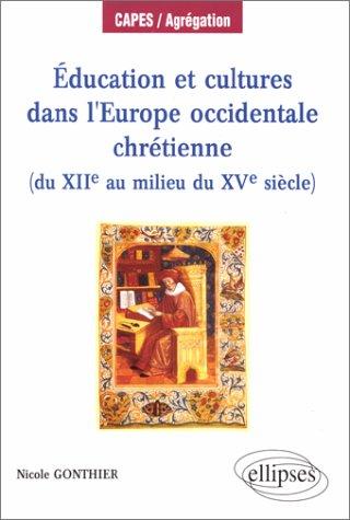 Éducation et cultures dans l'Europe occidentale