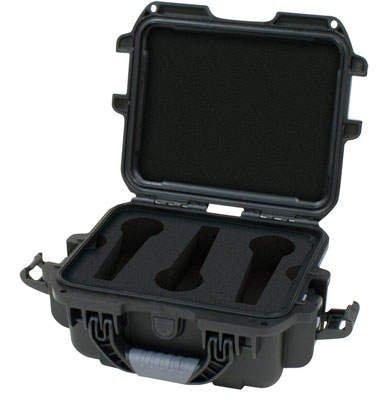 Gator Waterproof Microphone Case, Fits 16 Microphones