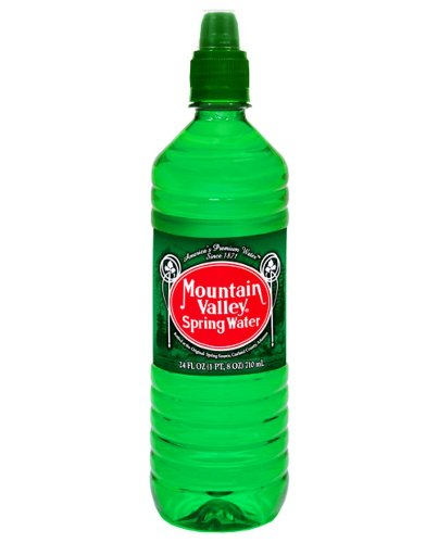 Mountain Valley Water - Spring with Sport Cap, 24-Ounce (Pack of 24)