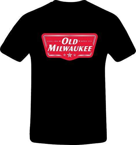 old-milwaukee-custom-tshirt-xs-black