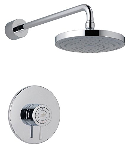 Mira 1.1656.003 Element Built in Rigid Thermostatic Mixer Shower