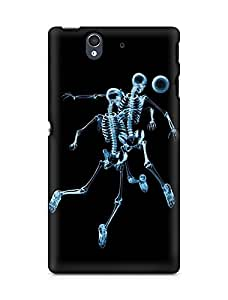 AMEZ Skeleton Back Cover For Sony Xperia Z