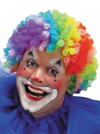 Costumes For All Occasions Mr179005 Wig 7 Color Clown
