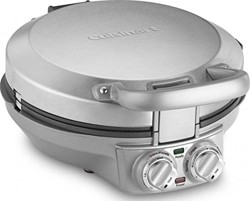 Cuisinart CPP-200 International Chef Crepe/Pizzelle/Pancake Plus, Stainless Steel via Amazon