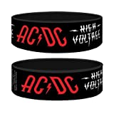 AC/DC - Rubber Wristband / Bracelet (High Voltage)