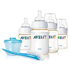 Philips Avent Infant Bottle Starter Set, BPA Free