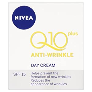 Nivea Visage Anti-Wrinkle Q10 Plus Day Cream (Packaging May Vary) - 50 ml