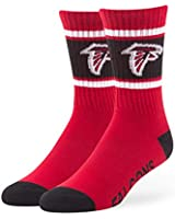 NFL Men's '47 Duster Casual Dress Crew Socks,  1-Pack