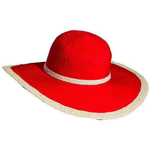 scala-da-donna-uv-upf-50-plus-cappello-donna-uv-scala-upf-50-plus-hut-rosso-taglia-unica