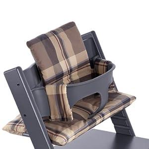 stokke tripp trapp cushion tarten blue toddler bedding sets baby. Black Bedroom Furniture Sets. Home Design Ideas