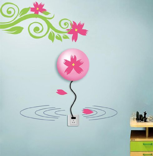 Dream Wall Decal, Pond Flower