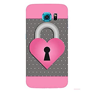 Back cover for Samsung Galaxy S6 Love Lock