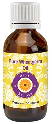 Pure Wheatgerm Oil 50ml (Triticum Vulgare) 100% Natural