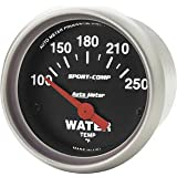 Auto Meter 3337 Sport-Comp Electric Water Temperature Gauge