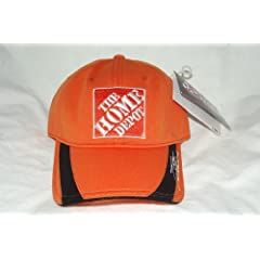 Chase Authentics Orange Performance Tony Stewart #20 Home Depot Buckle Back Cap by NASCAR