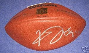 Kevin Jones Autographed Football - New - Autographed Footballs