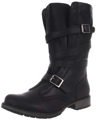Madden Girl Women's Raszcal Boot,Black Paris,11 M US