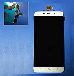 Online For Good(TM) Full LCD Touch Digitizer Screen Replacement for Coolpad Note 3 - White - 5.5 Inch - Doesnot fit Coolpad Note 3 Lite