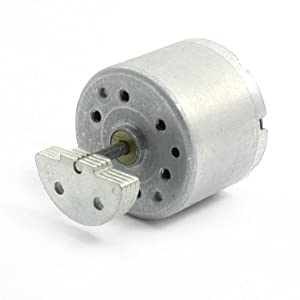 2mm Shaft Dia Connector Micro Vibration Motor DC 3-12V 4000RPM from uxcell