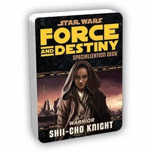 Star Wars Force and Destiny Shii-Cho Knight Specialization Deck - 1