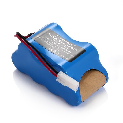 Powerextra™ Euro Pro Shark 7.2V Nimh Replacement Battery Pack For Shark Vacuum V1950 Vx3 Replacing Xb1918