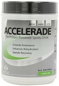 Pacific Health  Accelerade, Lemon Lime, Net Wt. 2.06 lb., 30 serving