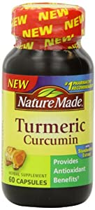 Nature Made Tumeric Capsules 500 Mg, 60 Count