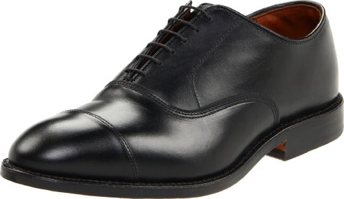 Allen Edmonds Men's Park Avenue Cap Toe Oxford,Black,7.5 D