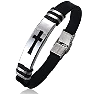 Jstyle Jewelry Men's Stainless Steel…