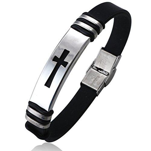 jstyle-herren-religiose-armbander-schwarz-aus-gummi-und-edelstahl-armband-mit-kreuzform-armband-lang