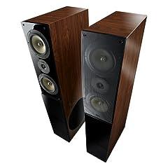 Teufel Theater 5 Hybrid Stereo Set Teak