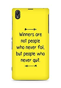 AMEZ but people who never quit Back Cover For Sony Xperia Z1 C6902