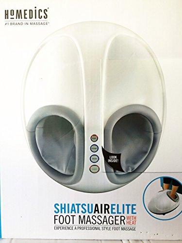 Homedics Shiatsu Air Elite Foot Massager with Heat (Foot Massager Homedics compare prices)
