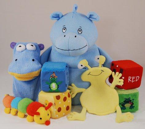 Juguetes para bebés de baño - Hippo Gift Set