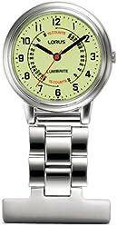 Lorus Professional Unisex Lumibrite Nurses Fob Watch RG253CX9