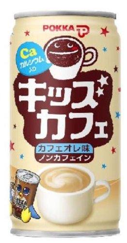 【Amazonの商品情報へ】(お徳用ボックス)キッズカフェ カフェオレ味 190g×30缶