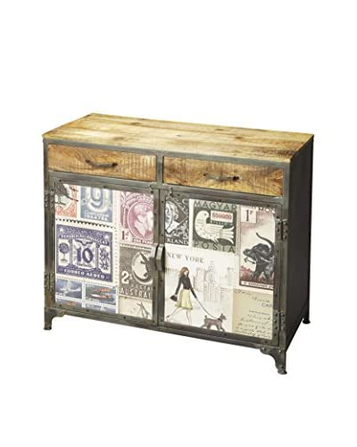 Butler Specialty Company Console Cabinet, Wet Sand