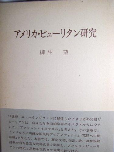 アメリカ・ピューリタン研究 (1981年)