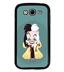 Fuson Premium 2D Back Case Cover Magician girl With blue Background Degined For Samsung Galaxy Grand Neo::Samsung Galaxy Grand Neo i9060