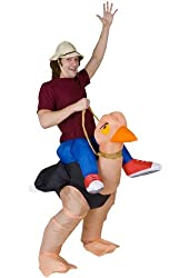 Gemmy - Illusion Ollie Ostrich Adult Costume