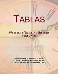 Tablas: Webster's Timeline History, 1504 - 2007