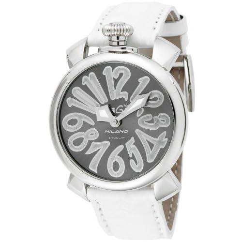 [ガガミラノ]GaGa MILANO 腕時計 マニュアーレ40mm シルバー/グレー文字盤 5020.9-WHT  【並行輸入品】