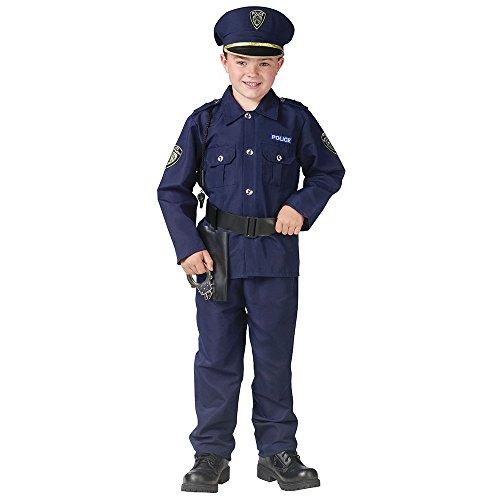 [Policeman Kids Costume] (Policeman Boys Costume)