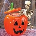 Inflatable Jack O Lantern Pumpkin Party Cooler Bowl