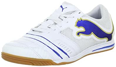 Puma PowerCat 3.12 Sala 102509, Herren Sportschuhe - Indoor, Weiss (white-puma royal-team gold 01), EU 36 (UK 3.5) (US 4.5)